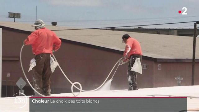 Pic de chaleur: des toits en blanc contre les fortes températures?