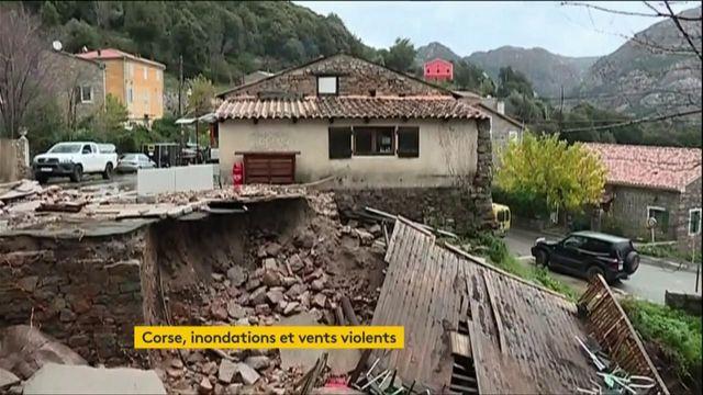 Intempéries : la Corse frappée par des pluies diluviennes