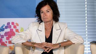 La journaliste Sylvie Pierre Brossolette. (CHRISTOPHE MORIN / MAXPPP)