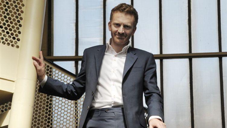 Pierre Kosciusko-Morizet, cofondateur et PDG de PriceMinister, le 19 mai, dans les locaux de son entreprise. (AFP)
