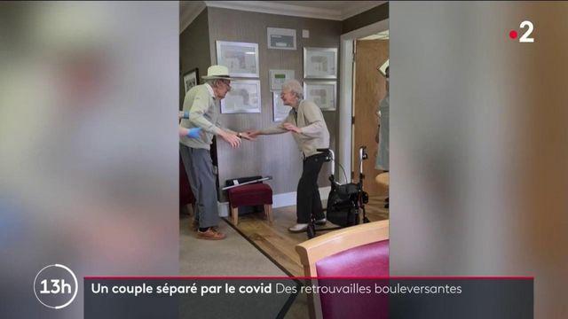 Royaume-Uni : les retrouvailles d'un couple de retraités séparés par le Covid-19 émeut les internautes