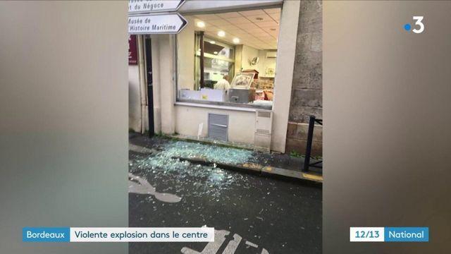 Gironde : énorme explosion dans le centre-ville de Bordeaux