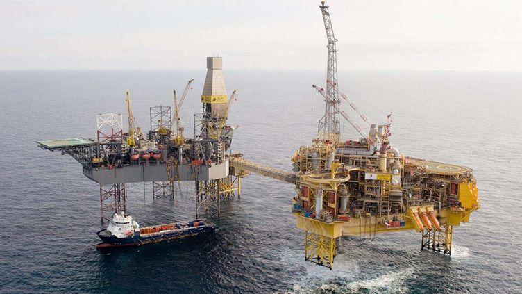 La plateforme Total du gisement d'Elgin, en mer du Nord. (TOTAL E&P UK LTD /SIPA )