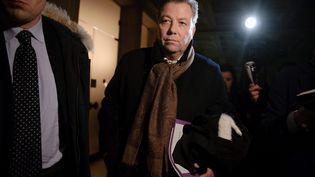 Maître Olivier Morice, le 31 janvier2012, à Paris. (CHRISTOPHE PETIT TESSON / MAXPPP)