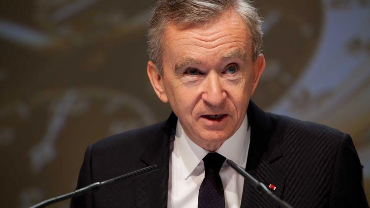 L'homme d'affaires français Bernard Arnault, patron de LVMH, le 5 avril 2012 à Paris. (PRM / SIPA)