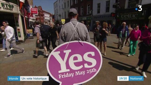 Irlande : un vote historique