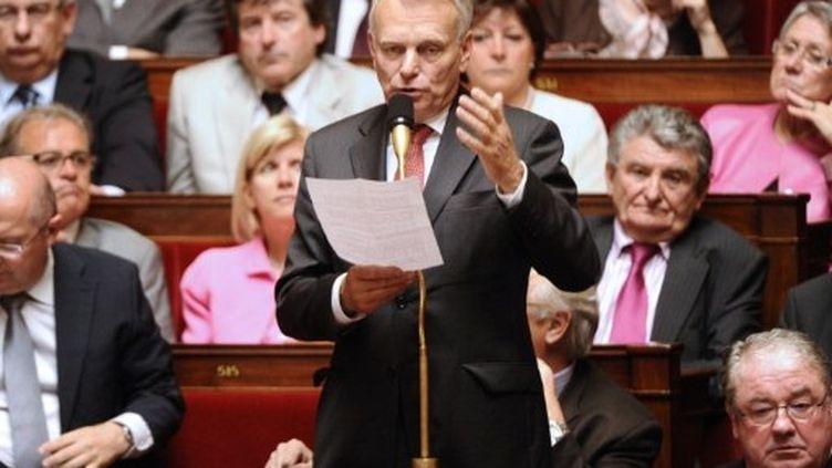 Le président du groupe PS à l'Assemblée, Jean-Marc Ayrault (AFP - MIGUEL MEDINA)