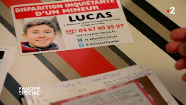 """Envoyé spécial. """"Quelqu'un vous donne un espoir, et derrière c'est du vent... c'est terrible"""" : les parents de Lucas Tronche témoignent dans """"Envoyé spécial"""""""