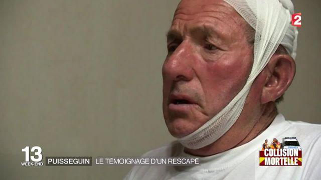 Accident mortel à Puisseguin : premier témoignage d'un  survivant