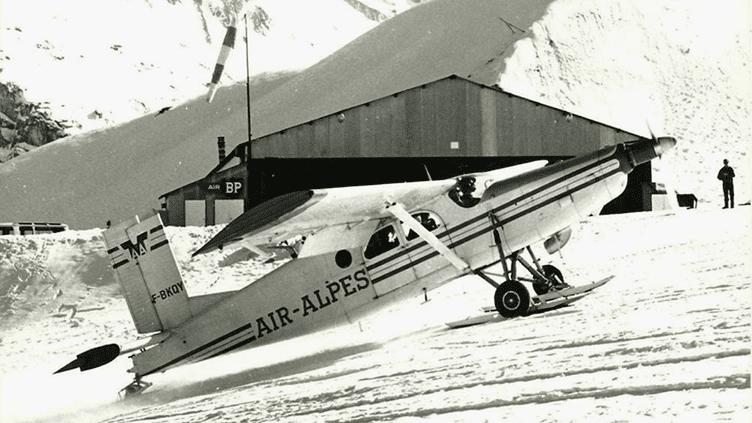 L'aviation de montagne depuis 50 ans. (Jean Pérard / Archives Air Alpes)