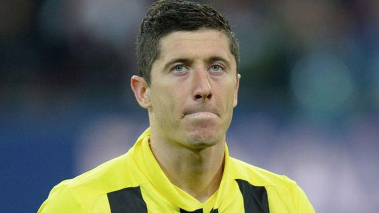 L'attaquant du Borussia Dortmund Robert Lewandoswki