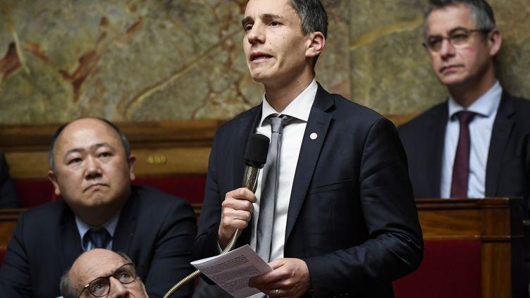 Le député LREM du Bas-Rhin Bruno Studer lors des Questions au gouvernement, à Paris, mercredi 12 décembre 2018. (BERTRAND GUAY / AFP)