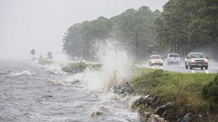 Une route en Floride, le 1er septembre 2016. (MARK WALLHEISER / GETTY IMAGES NORTH AMERICA / AFP)