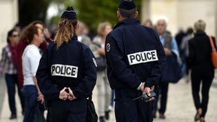 Une patrouille de la Police Nationale, à Nancy, le 8 septembre 2017. (MAXPPP)