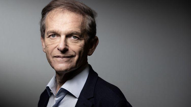 Le médecin et écrivain Frédéric Saldmann à Paris le 5 février 2020 (JOEL SAGET / AFP)