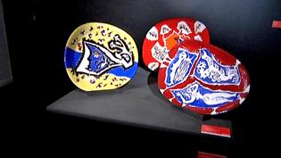 L'exposition retrace 70 ans d'histoire de la céramique au domaine Sant Vicens.  (France 3)