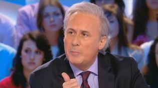 """George Tron, le député-maire de Draveil (Essonne), le 11 mai 2012 au """"Grand journal"""" de Canal+. (FTVI / CANAL +)"""