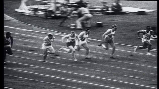100 m 1936