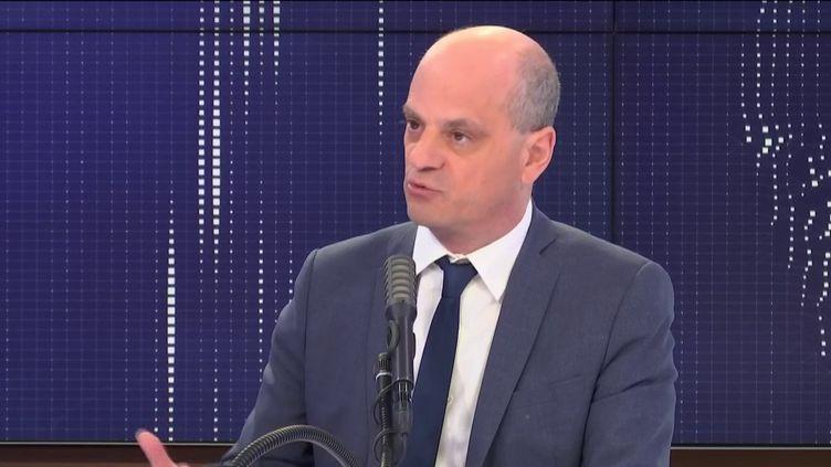 Jean-Michel Blanquer, ministre de l'Education nationale, sur franceinfo, le 29 mai 2020. (FRANCEINFO / RADIO FRANCE)