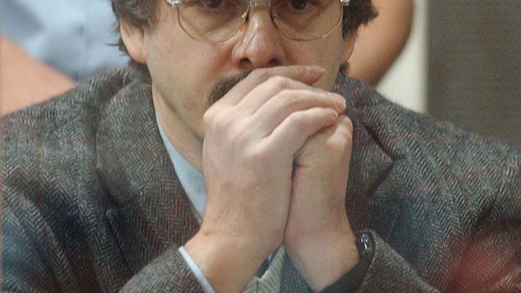 Marc Dutroux, le 14 juin 2004, à Arlon (Belgique). (STR / AFP)