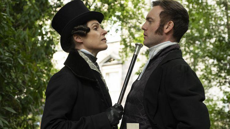 Suranne Jones incarne l'héroïne Anne Lister  (PHOTOGRAPHER: MATT SQUIRE (c) HBO)