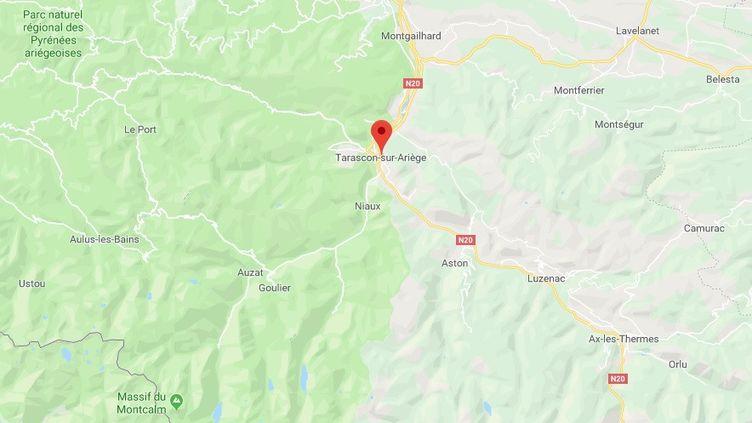 Capture d'écran Google Maps (RADIO FRANCE)