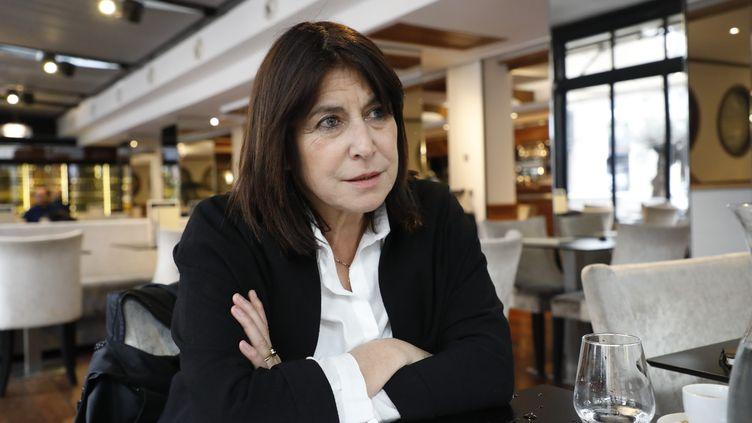 Michèle Rubirola, tête de liste du Printemps marseillais, le 11 janvier 2020, à Marseille. (DAVID ROSSI / MAXPPP)
