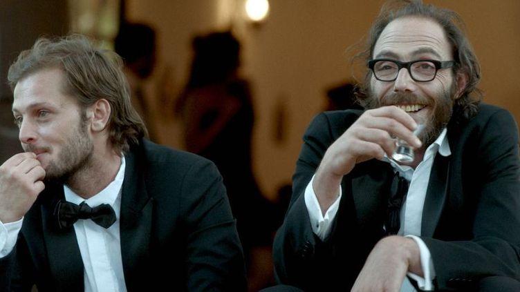 Nicolas Duvauchelle et Philippe Rebbot  (France 3 / Culturebox)
