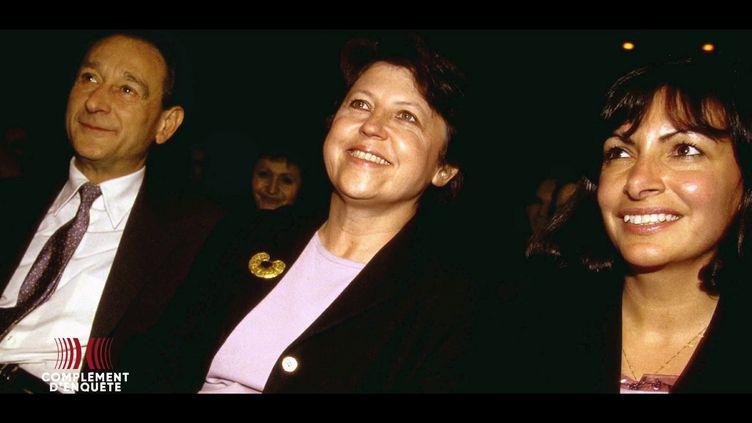 Quand Anne Hidalgo affrontait ses deux mentors, Martine Aubry et Bertrand Delanoë (COMPLÉMENT D'ENQUÊTE/FRANCE 2)