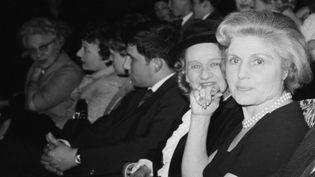 Renée Dorléac, la mère de Catherine Deneuve et Françoise Dorléac, le 12 mai 1965 (JACQUES HAILLOT / SYGMA)