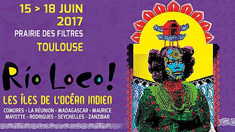Rio Loco : affiche 2017  (DR)