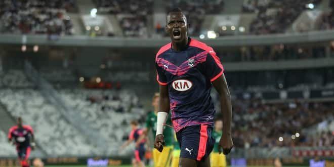 Cheick Diabaté, l'attaquant des Girondins de Bordeaux.