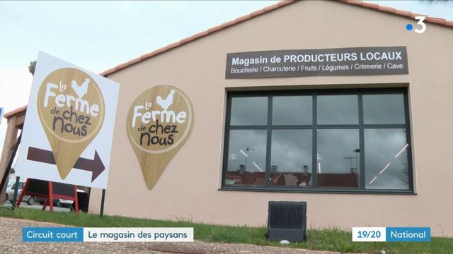 Vendée : un magasin en circuit-court vend les produits des paysans du coin