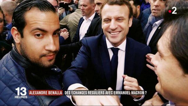 Alexandre Benalla : des échanges réguliers avec Emmanuel Macron ?
