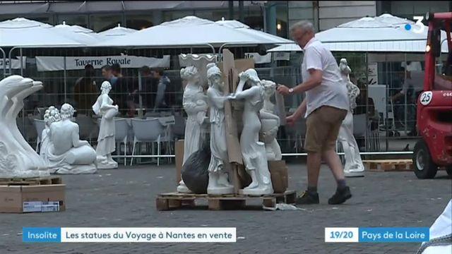 La vente des statues de la place Royale à nantes