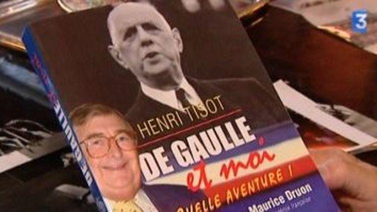 Henri Tisot rend hommage à De Gaulle dans son dernier livre  (Culturebox)