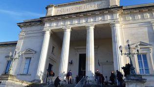 Le palais de justice de Saintes. (ARIANE GRIESSEL / RADIOFRANCE)