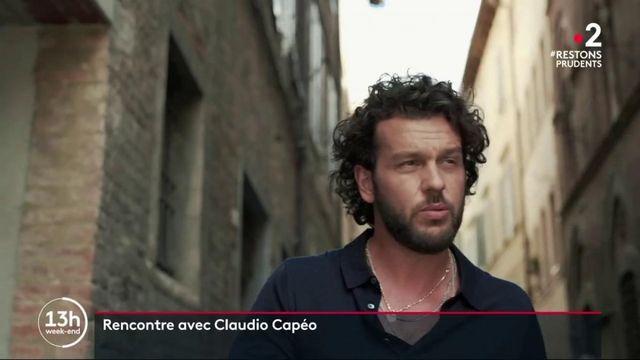 Musique : Claudio Capéo chante son amour pour l'Italie et la France