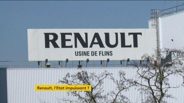 Usines Renault menacées de fermeture : l'Etat est-il impuissant ?