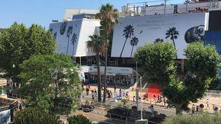 Le Palais des Festivals à Cannes, le 6 juillet 2021. (LCA / FRANCEINFO CULTURE)