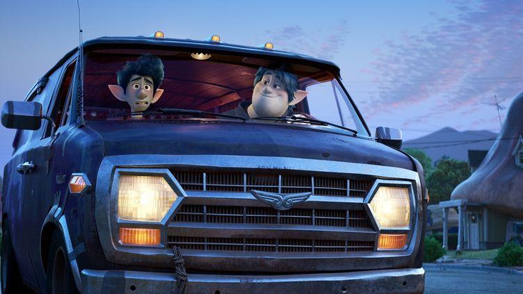 """Les personnages du film """"En Avant"""", doulblés par Chris Pratt et Tom Holland. (PIXAR)"""