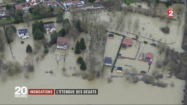 Inondations : les dégâts vus du ciel