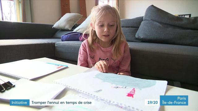 Deux artistes parisiens mettent en musique et avec poésie les dessins des enfants