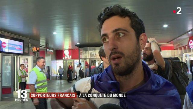 Supporters français : à la conquête du monde