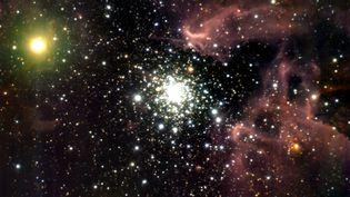 Photo de la voie lactée non datée prise depuis un téléscope de l'Observatoire européen austral au Chili. (ESO / DPA / DPA / AFP)