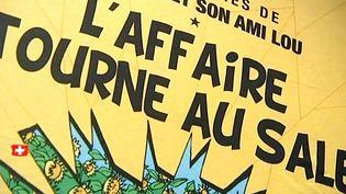 Exposition sur Tintin, à Genève  (France3/Culturebox)