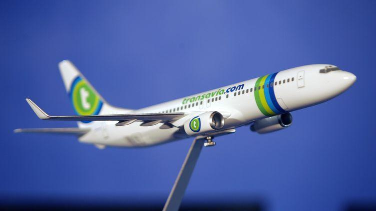 Les syndicats de pilotes d'Air France s'opposent au projet de la direction de développer Transavia, la filiale à bas coût de la compagnie. (JACQUES DEMARTHON / AFP)