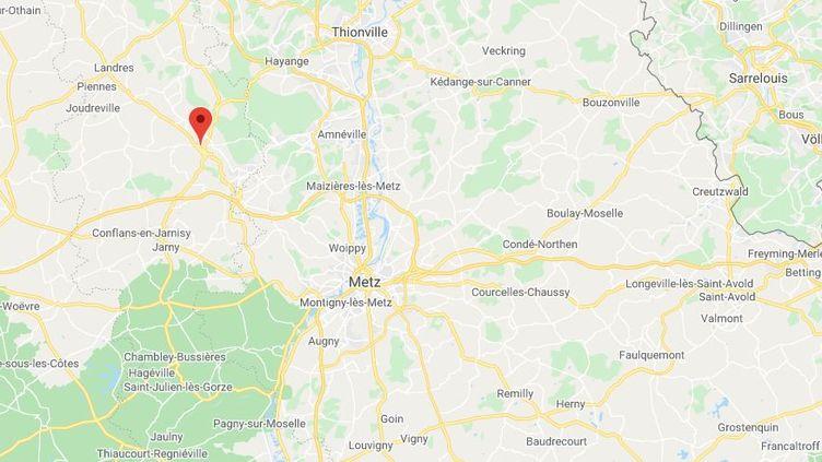 Briey(Meurthe-et-Moselle). (GOOGLE MAPS)