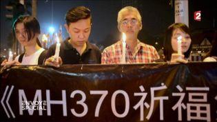 MH370 (CAPTURE ECRAN FRANCE 2)