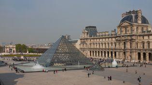 Le musée de Louvres, à Paris, le 24 mars 2017. (PHOTO12 / GILLES TARGAT / AFP)